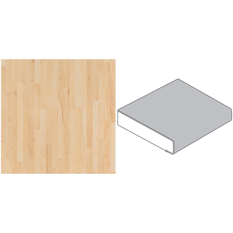 arbeitsplatte 90 x 2 9 cm buche butcherblock natur bu33 pof max 2 96 m kaufen bei obi. Black Bedroom Furniture Sets. Home Design Ideas