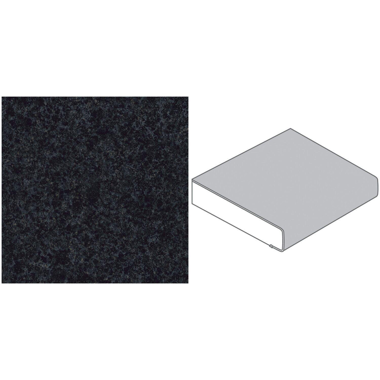 Arbeitsplatte 90 x 29 cm rena schwarz blau re128 c max for Arbeitsplatte 90 cm