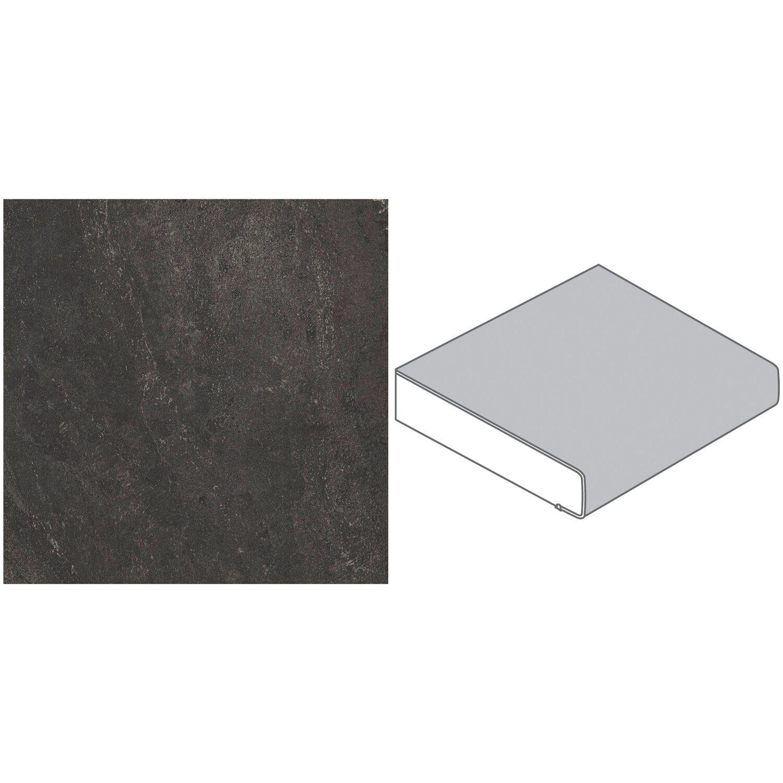 arbeitsplatte 90 x 3 9 cm bronzit schwarz bz173 si max 4 1 m kaufen bei obi. Black Bedroom Furniture Sets. Home Design Ideas