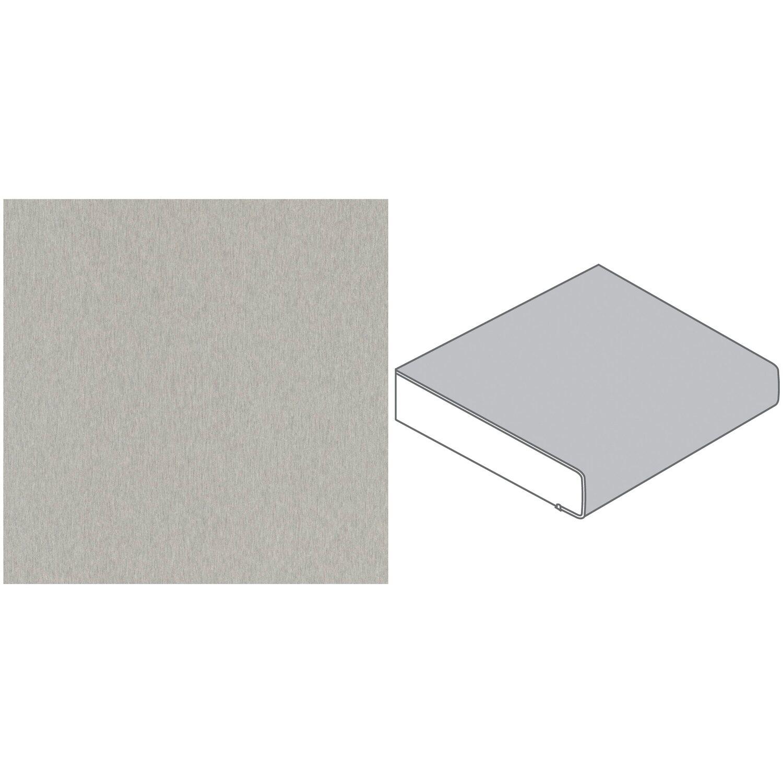 arbeitsplatte 90 x 3 9 cm metall edelstahl geb rstet me478 fs max 4 1 m kaufen bei obi. Black Bedroom Furniture Sets. Home Design Ideas