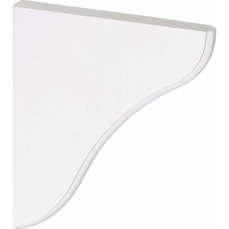 obi holzkonsole kiefer wei 195 mm x 165 mm kaufen bei obi. Black Bedroom Furniture Sets. Home Design Ideas