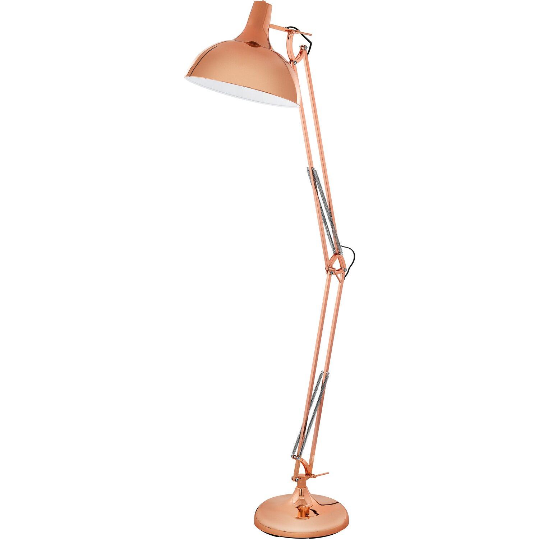 Wunderbar Stehlampe Kupfer Galerie Von Eglo Stehleuchte Borgillio Eek: E-a++