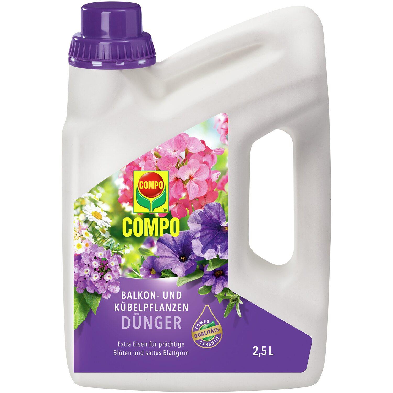 Compo Balkon- und Kübelpflanzendünger 2,5 l