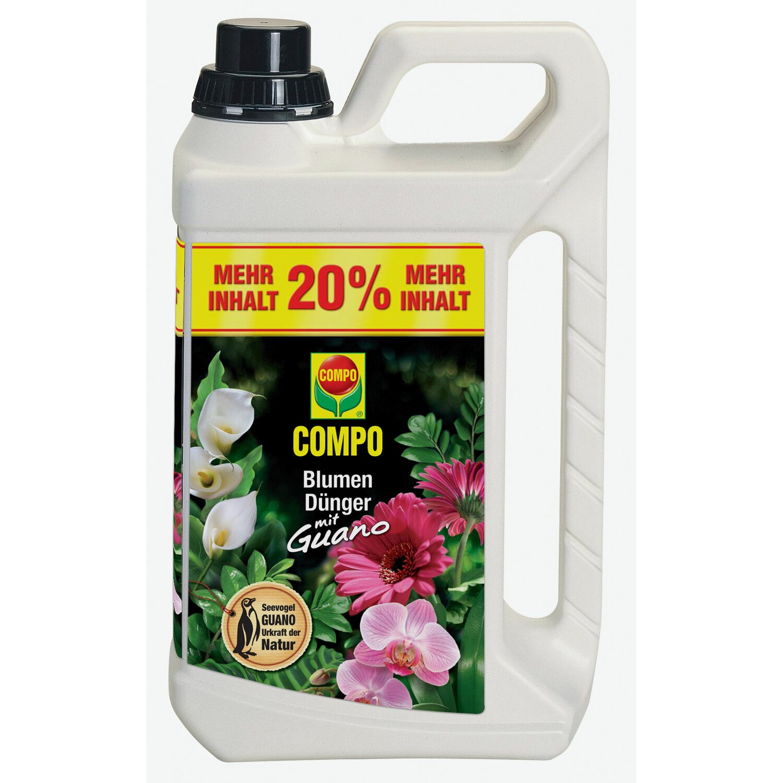 Compo Blumendünger mit Guano 3 l