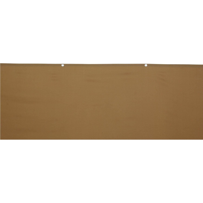 Obi Balkonsichtschutz Melville 90 Cm X 500 Cm Khaki Kaufen Bei Obi