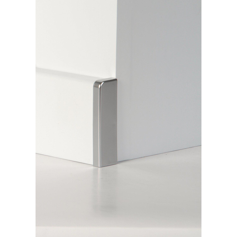Endkappen Für Fuxx Sockelleiste Fliese Silber Kaufen Bei OBI - Fliesen sockelleisten entfernen