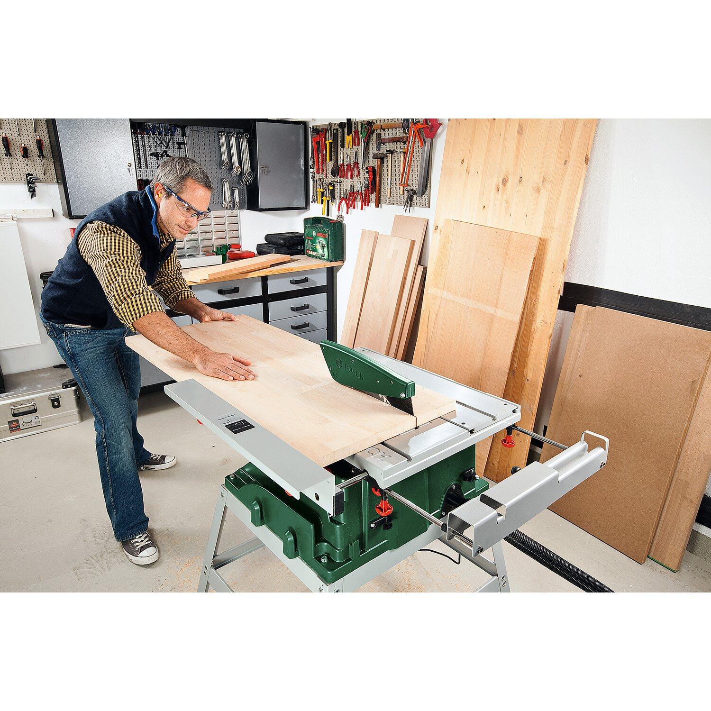 Sehr Bosch Tischkreissäge PTS 10 T inkl. Untergestell 1400 W kaufen bei OBI WR52