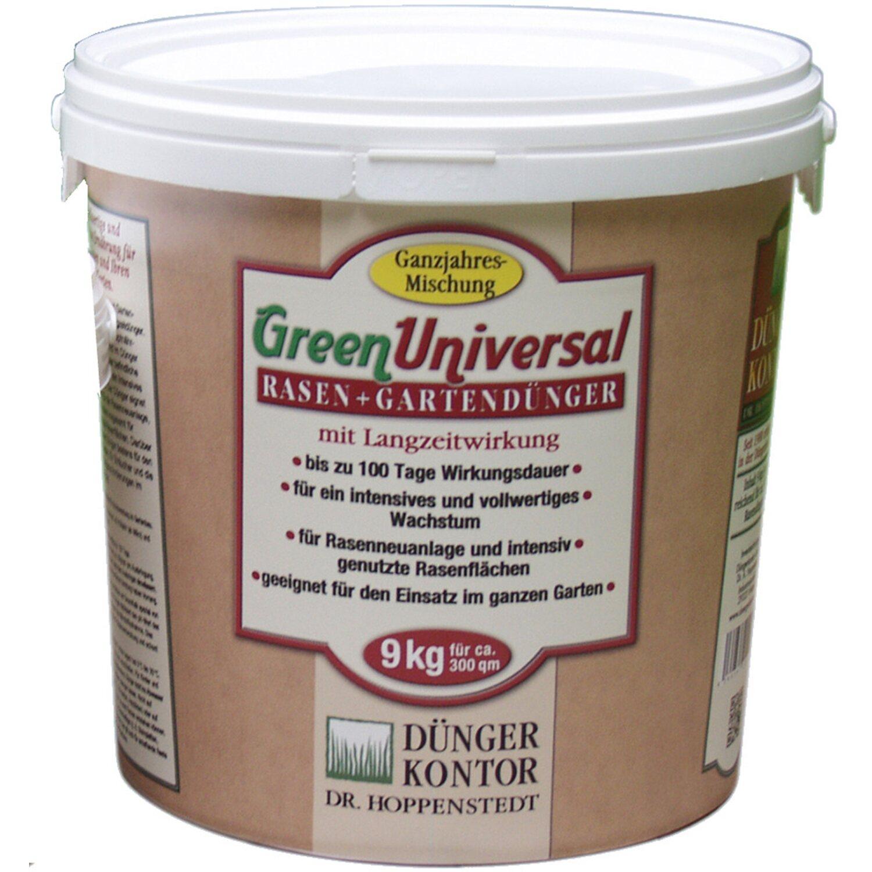 Düngerkontor  Rasen-und Gartendünger GreenUniversal 9 kg