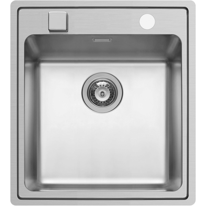 Küchenfreund Einbauspüle ES 102 Edelstahl Poliert eckig | Küche und Esszimmer > Spülen > Einbauspülen | Silberfarben | Küchenfreund