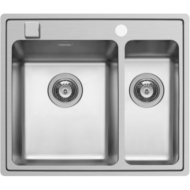 Küchenfreund Einbauspüle ES 151 Edelstahl Poliert | Küche und Esszimmer > Spülen > Einbauspülen | Edelstahl - Ab | Küchenfreund