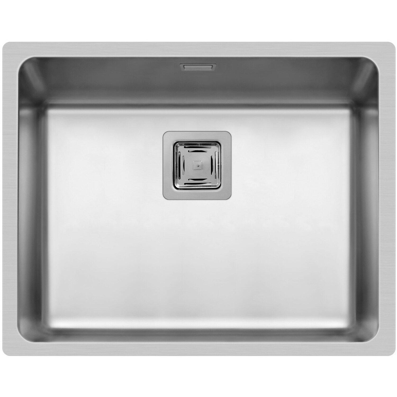 Küchenfreund Einbauspüle ES 204 Edelstahl Poliert | Küche und Esszimmer > Spülen | Silberfarben | Küchenfreund
