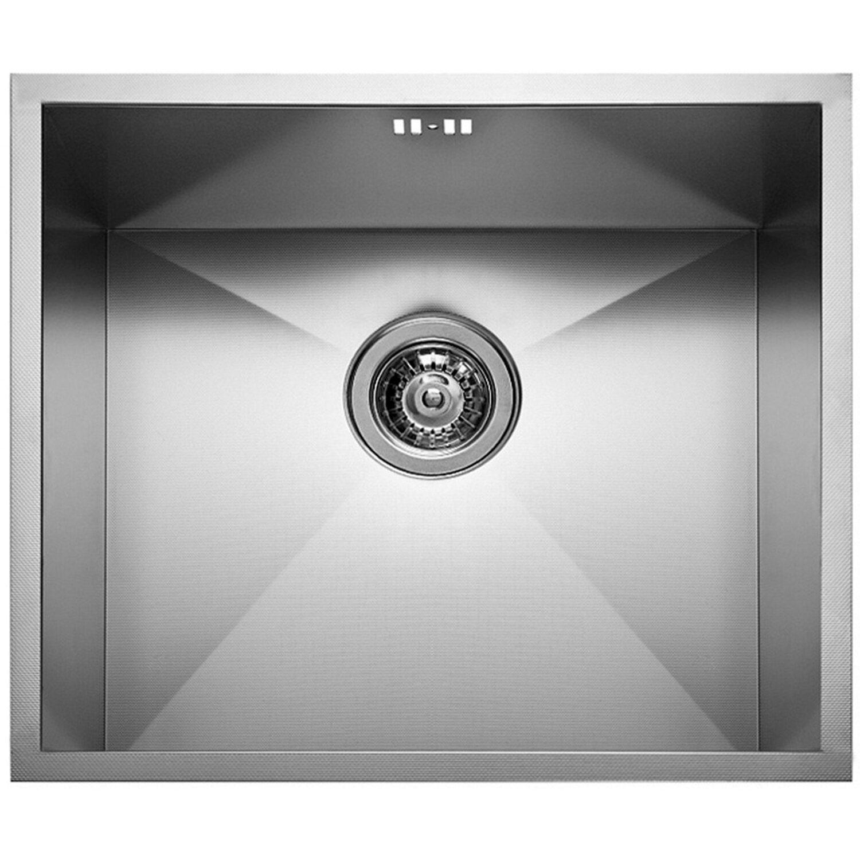 Küchenfreund Einbauspüle ES 213 Edelstahl Gebürstet | Küche und Esszimmer > Spülen > Einbauspülen | Silberfarben | Küchenfreund