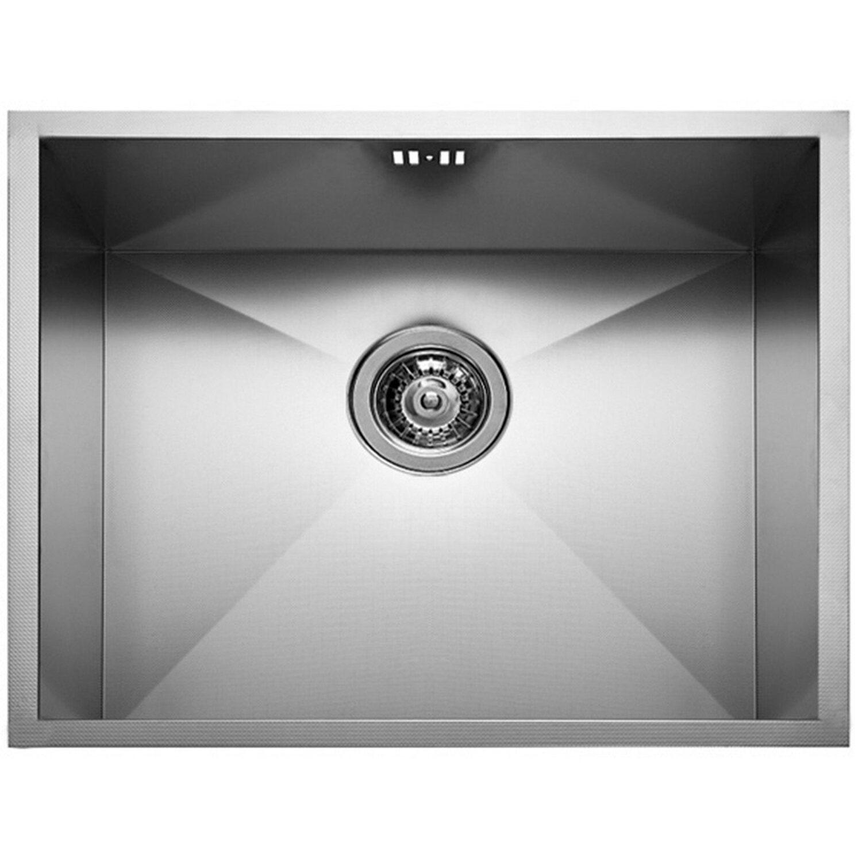 Küchenfreund Einbauspüle ES 214 Edelstahl Gebürstet | Küche und Esszimmer > Spülen > Einbauspülen | Silberfarben | Küchenfreund