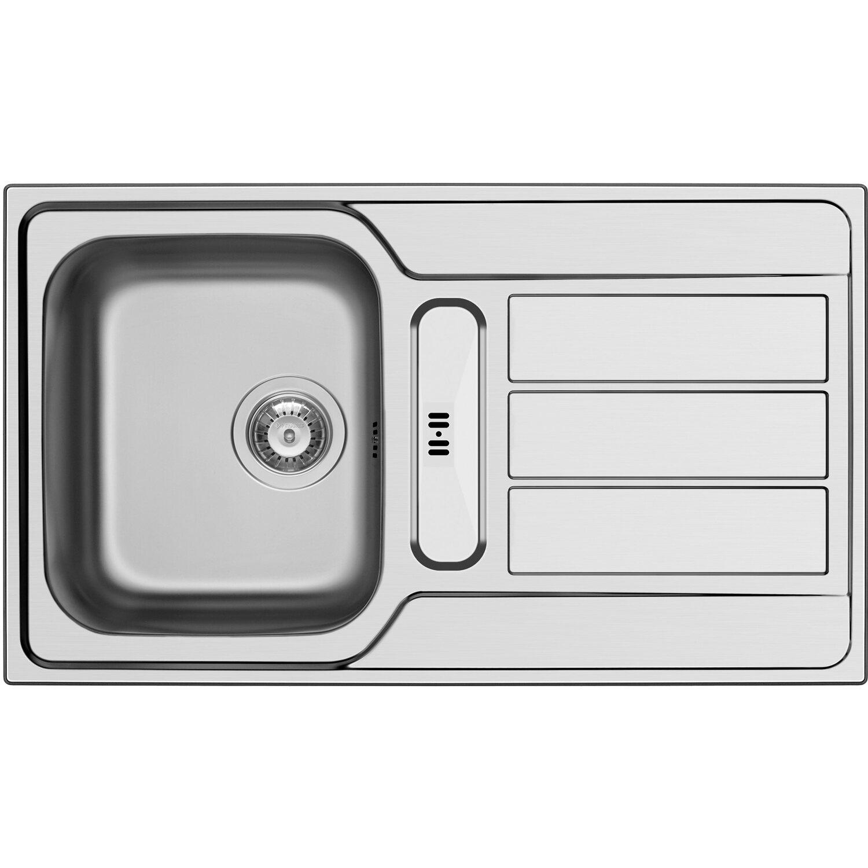 Küchenfreund Einbauspüle ES 305 Edelstahl Poliert | Küche und Esszimmer > Spülen | Küchenfreund