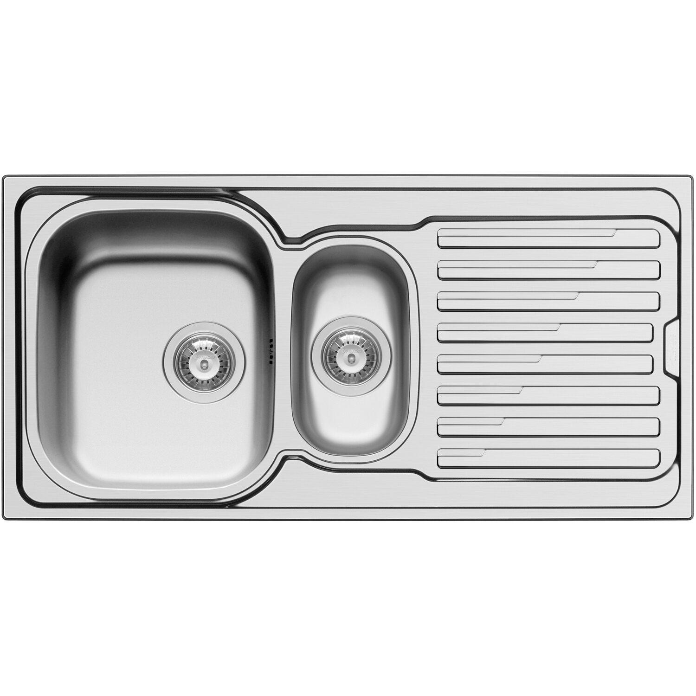 Küchenfreund Einbauspüle ES 402 Edelstahl Poliert