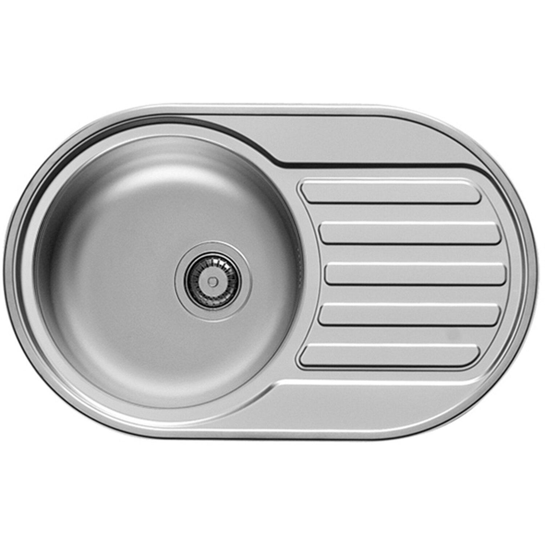 Küchenfreund Einbauspüle ES 601 Edelstahl Glatt | Küche und Esszimmer > Spülen | Edelstahl - Ab | Küchenfreund