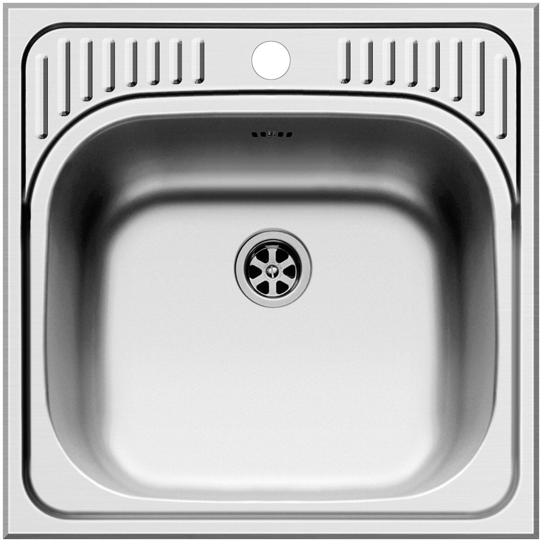 Küchenfreund Einbauspüle ES 614 Edelstahl Glatt | Küche und Esszimmer > Spülen | Küchenfreund
