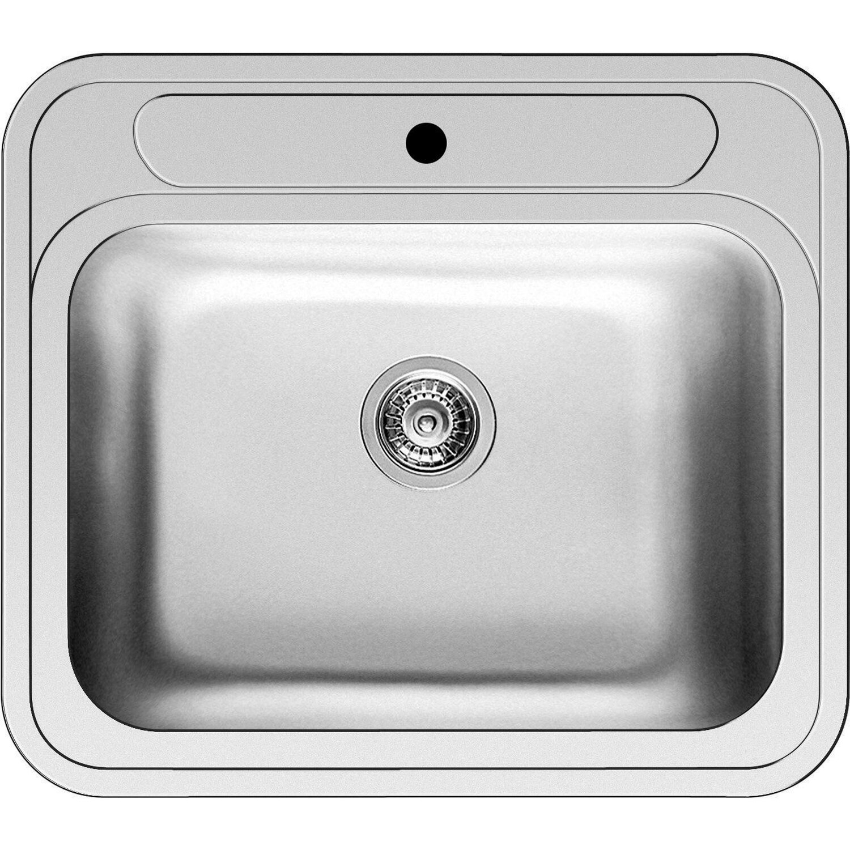 Küchenfreund Einbauspüle ES 615 Edelstahl Poliert | Küche und Esszimmer > Spülen > Einbauspülen | Küchenfreund