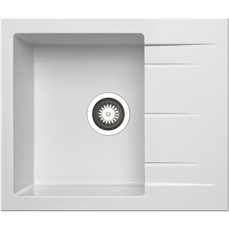 Küchenfreund Einbauspüle GN 102 Granite Snow | Küche und Esszimmer > Spülen > Einbauspülen | Küchenfreund