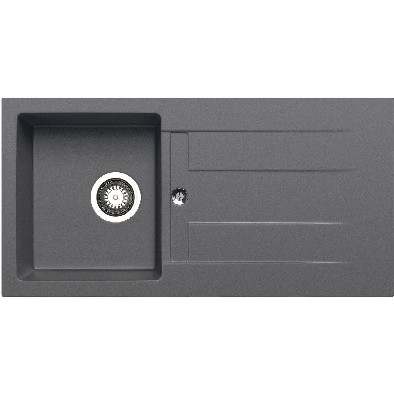 Küchenfreund Einbauspüle GN 103 Granite Iron Grey | Küche und Esszimmer > Spülen > Einbauspülen | Küchenfreund
