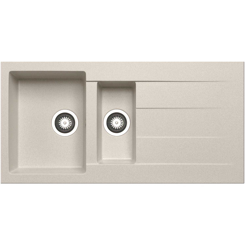 Küchenfreund Einbauspüle GN 105 Granite Beige   Küche und Esszimmer > Spülen > Einbauspülen   Mehrfarbig   Küchenfreund