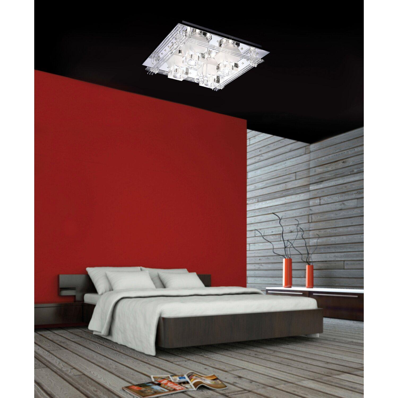 paul neuhaus halogen led deckenleuchte metis eek c kaufen bei obi. Black Bedroom Furniture Sets. Home Design Ideas