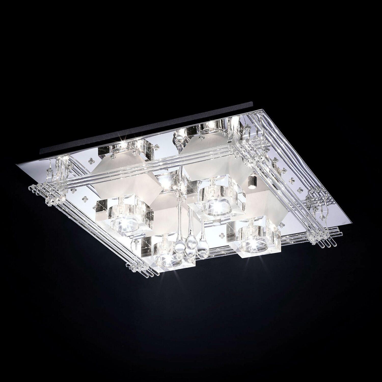 paul neuhaus halogen led deckenleuchte eek c metis kaufen bei obi. Black Bedroom Furniture Sets. Home Design Ideas