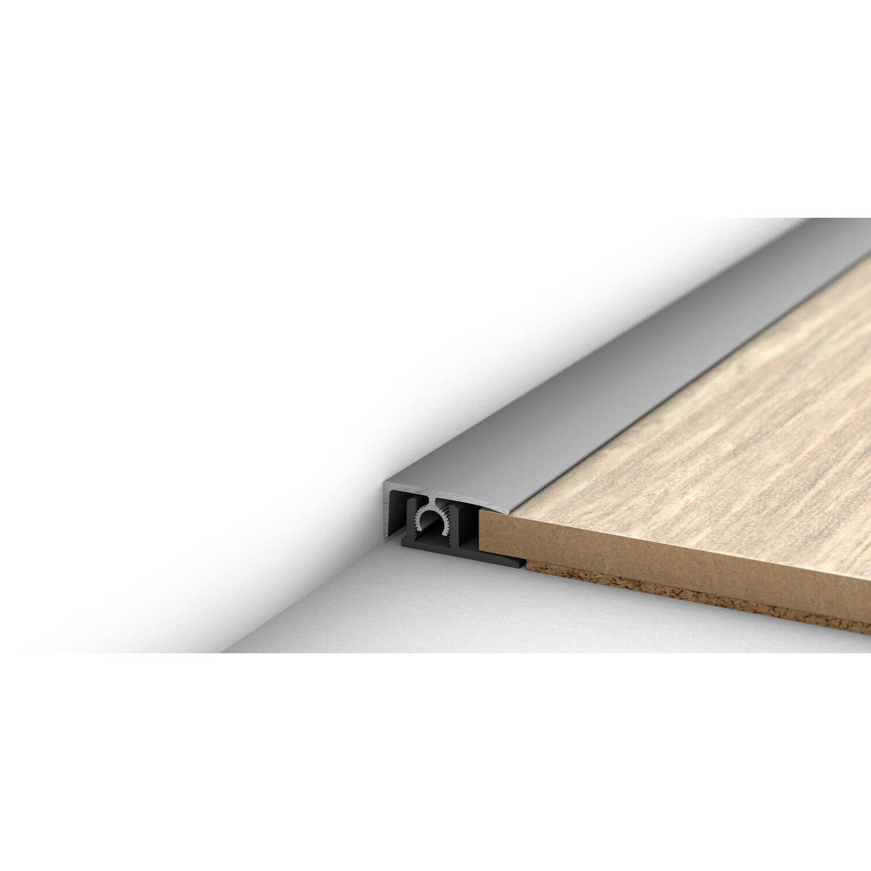 abschlussprofil silber eloxiert 2 teilig 15 mm x 25 mm x 900 mm kaufen bei obi. Black Bedroom Furniture Sets. Home Design Ideas