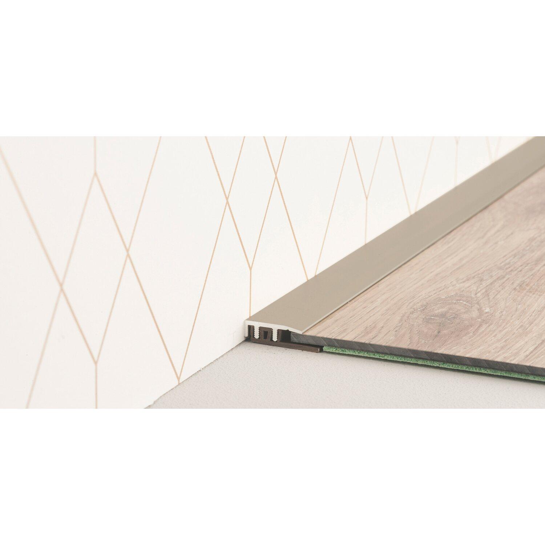 abschlussprofil f r vinylb den edelstahl 4 mm 7 5 mm x 20 mm x 900 mm kaufen bei obi. Black Bedroom Furniture Sets. Home Design Ideas