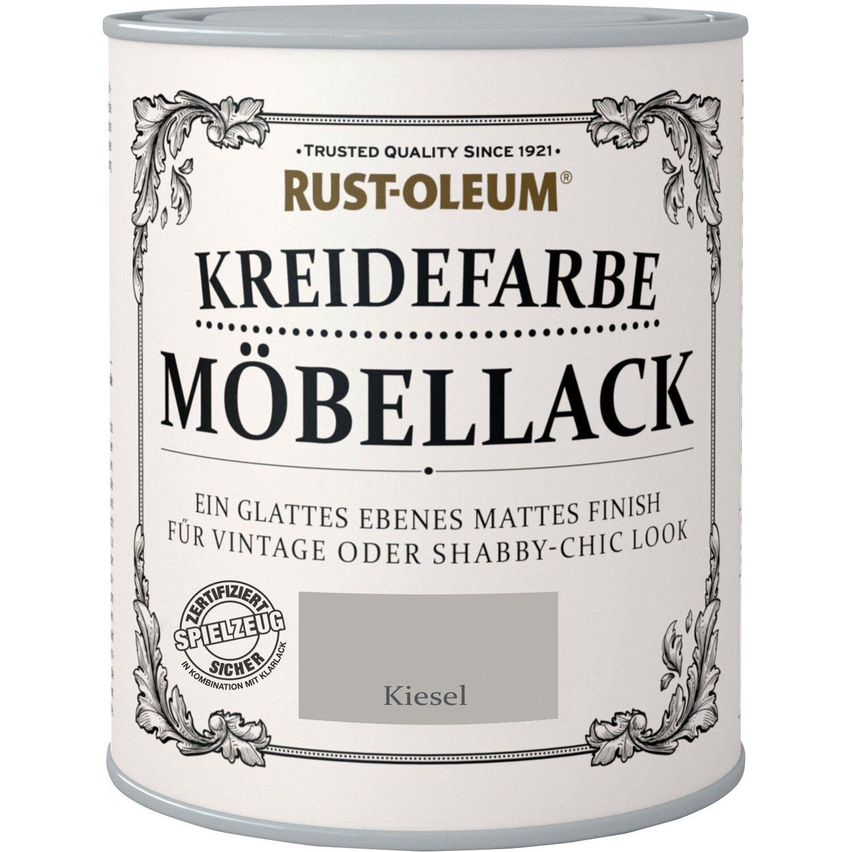 Rust-Oleum Möbellack Kreidefarbe Kiesel Matt 750 ml