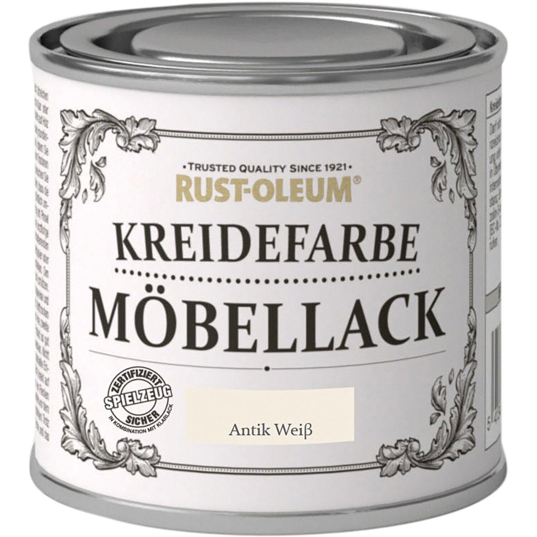 rust oleum m bellack kreidefarbe antikweiss matt 125 ml kaufen bei obi. Black Bedroom Furniture Sets. Home Design Ideas