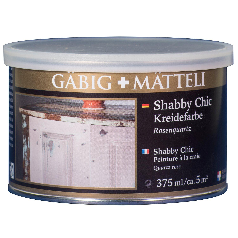 GäbigMätteli Gäbig+Mätteli Shabby Chic Kreidefarbe Rosenquarz matt 375 ml