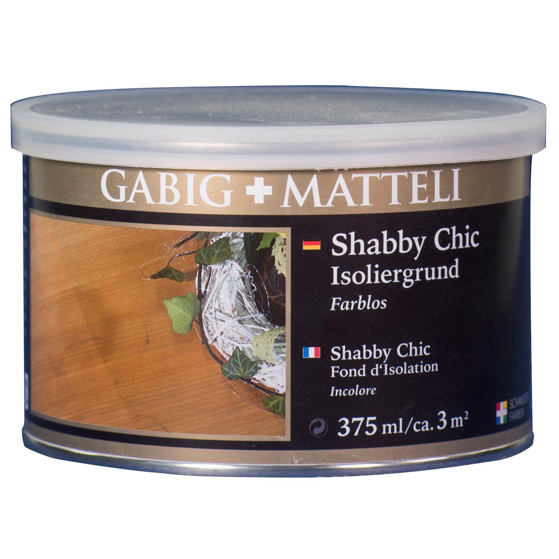 GäbigMätteli Gäbig+Mätteli Shabby Chic Isoliergrund transparent 375 ml