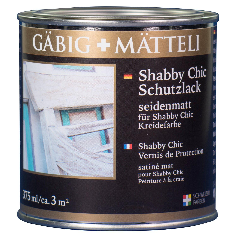 g big m tteli shabby chic schutzlack seidenmatt 375 ml. Black Bedroom Furniture Sets. Home Design Ideas