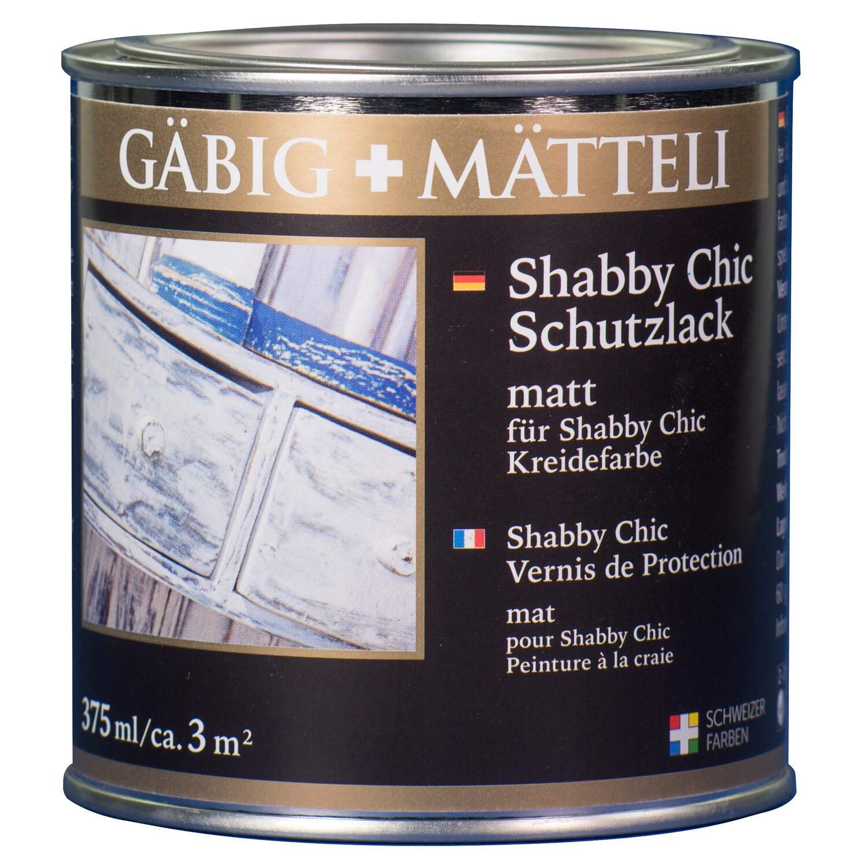 GäbigMätteli Gäbig+Mätteli Shabby Chic Schutzlack matt 375 ml