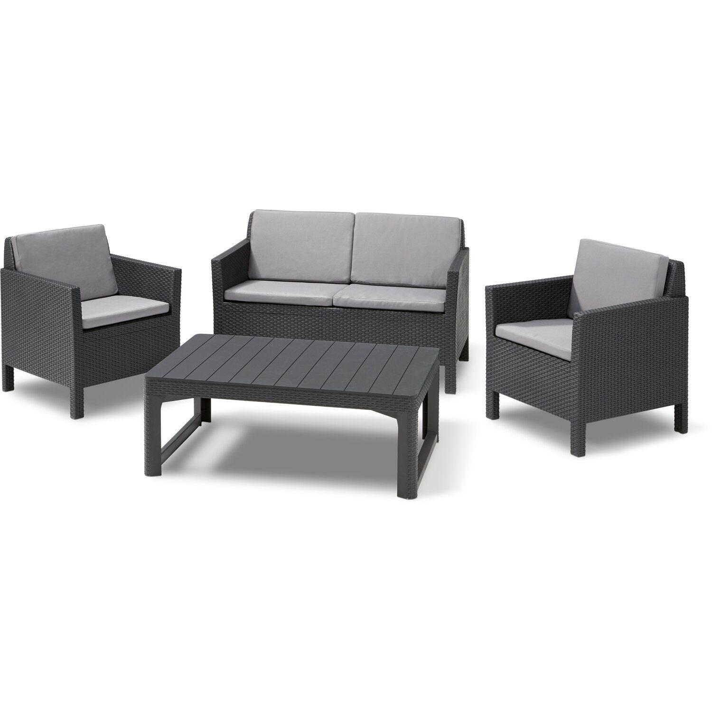Gartenmöbel Lounge-Gruppe Orlando