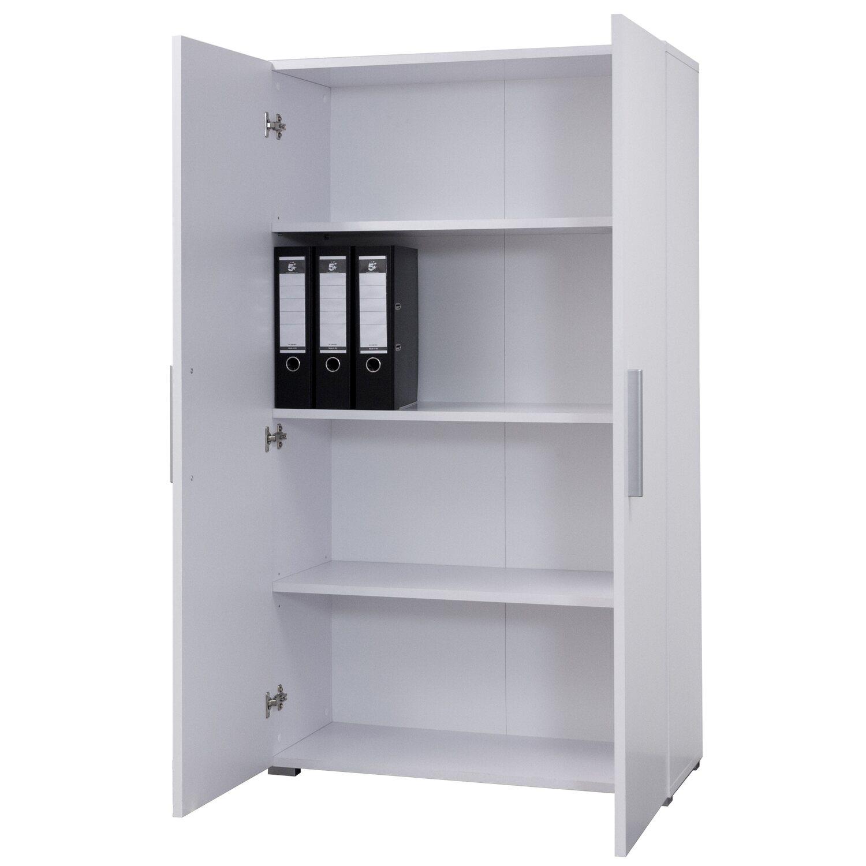 Schrank 140 Weiß/Weiß kaufen bei OBI