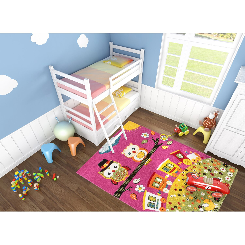 teppich bellino 435 pink 160 cm x 230 cm kaufen bei obi. Black Bedroom Furniture Sets. Home Design Ideas
