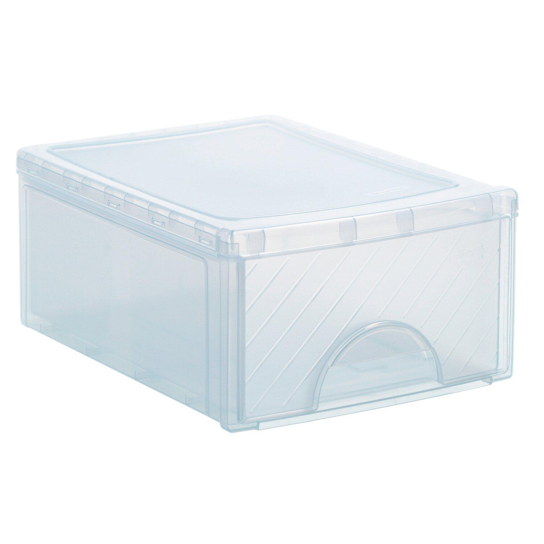 frontbox mit 1 schublade transparent kaufen bei obi. Black Bedroom Furniture Sets. Home Design Ideas