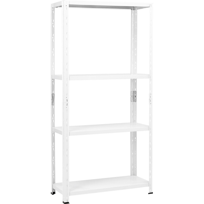 Steckregal weiß  CMI Metall-Steckregal Weiß 150 x 75 x 30 cm kaufen bei OBI