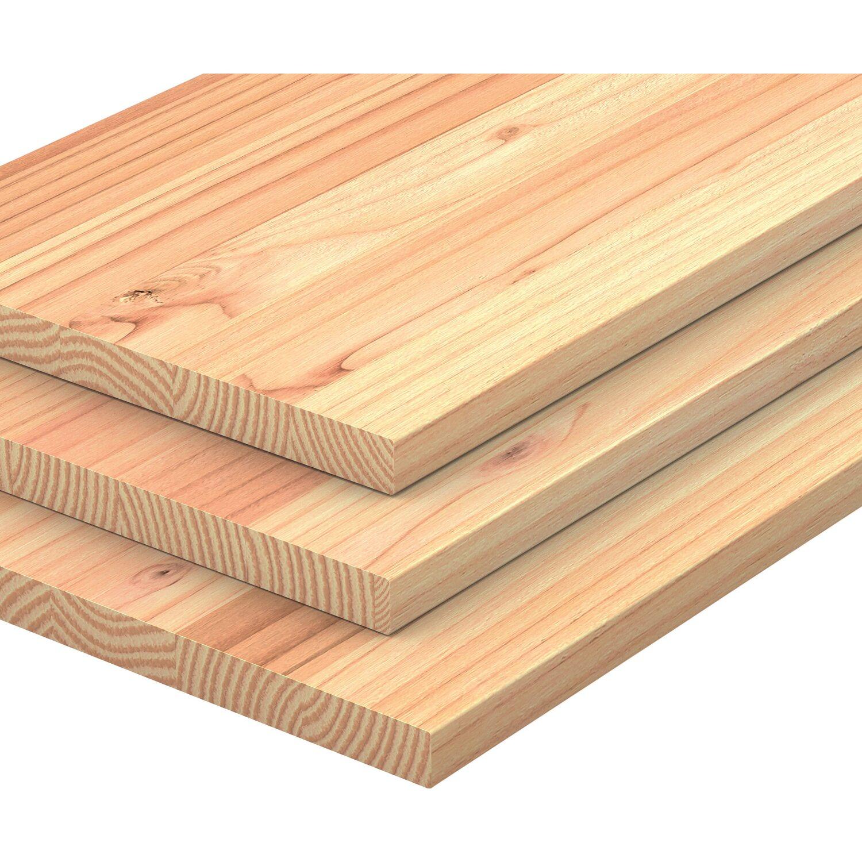 leimholzplatte douglasie 80 cm x 40 cm x 1 8 cm kaufen bei obi. Black Bedroom Furniture Sets. Home Design Ideas