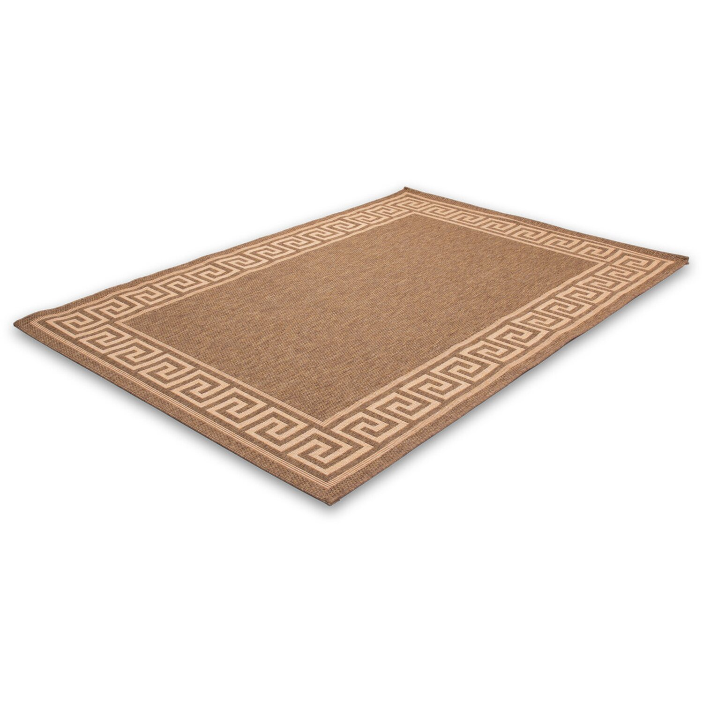 Teppich Coco 622 Kaffee-Mais 120 cm x 170 cm