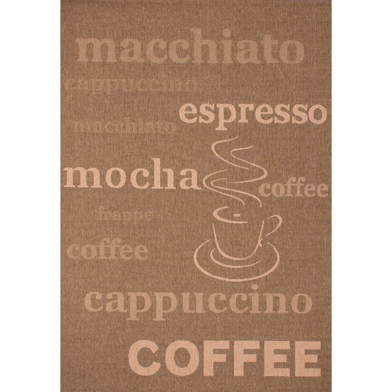 Teppich Coco 630 Kaffee 120 cm x 170 cm