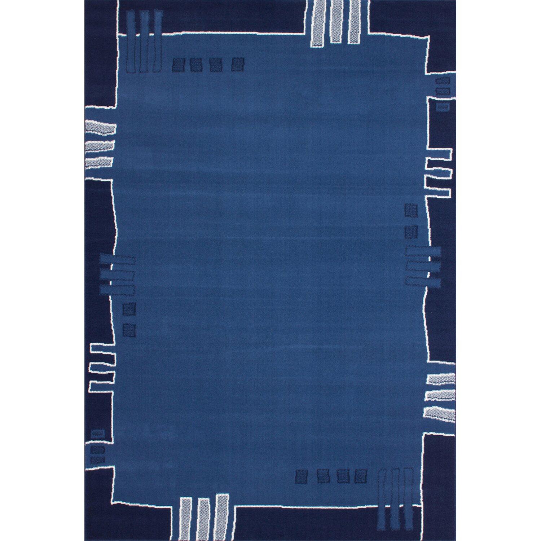 Flachflorteppich Farid Kayoom Blau