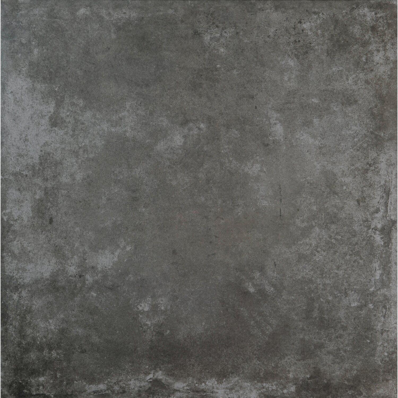 Sonstige Feinsteinzeug Atlas Lappato Anthrazit 75 cm x 75 cm