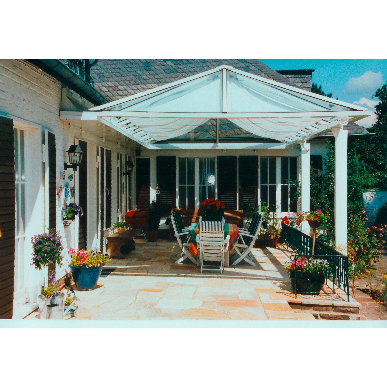 beliebte Marke größter Rabatt heiße Produkte Floracord Sonnensegelbausatz Universal Hell Elfenbein 420 cm x 140 cm