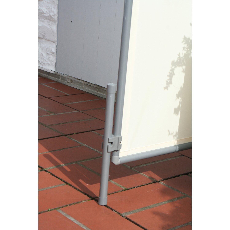 869849b7ad2437 floracord paravent sicht- und windschutz hell elfenbein 70 cm x 170