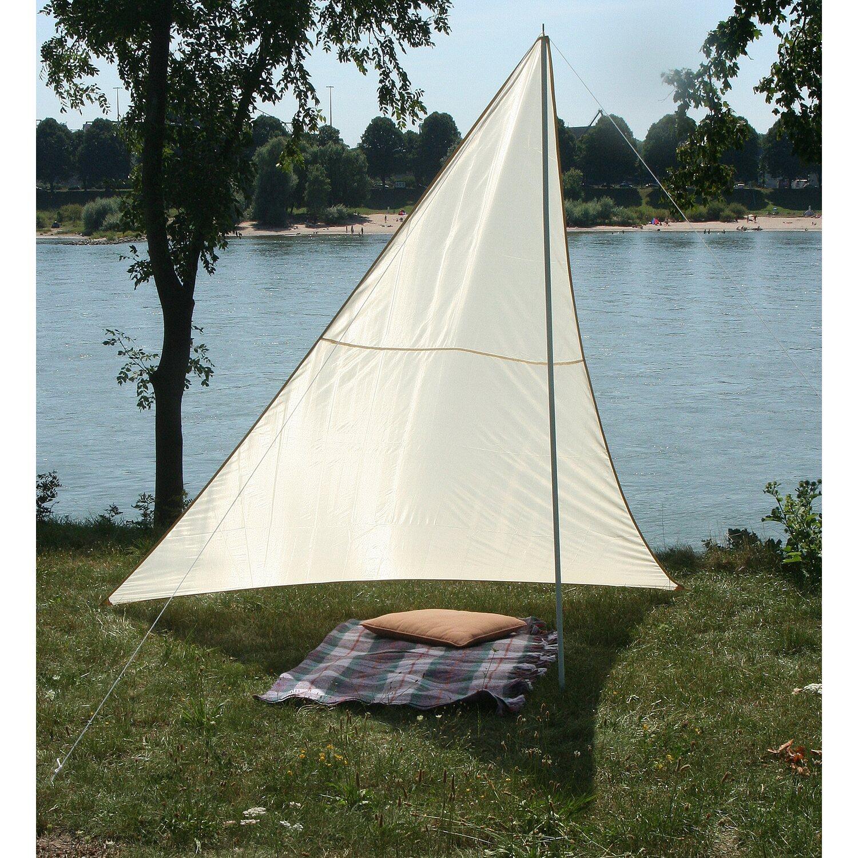 Floracord Camping Dreieckssonnensegel Sand 300 ...