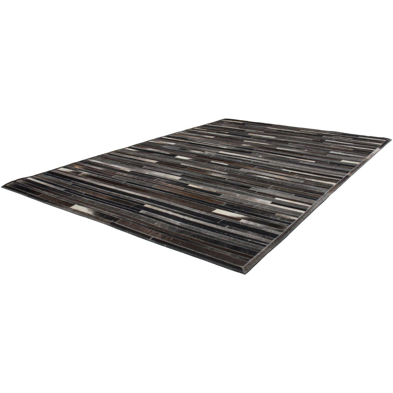 Teppich Wonder 220 Grau-Braun 120 cm x 170 cm