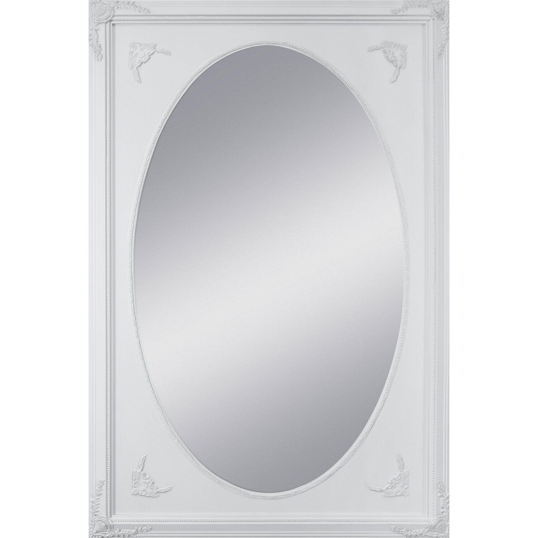 Holzrahmenspiegel Passepartout II Weiß 60 cm x 90 cm kaufen bei OBI